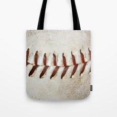 Vintage Baseball Stitching Tote Bag
