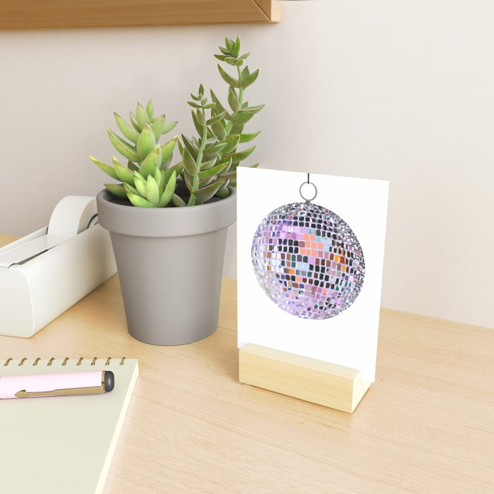 Let's Have a Disco Ball Mini Art Print