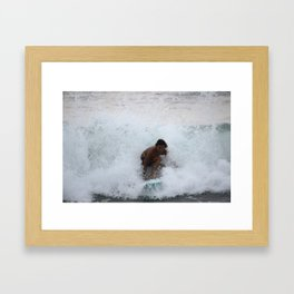 Coasting the Close-Out Framed Art Print