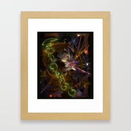 In the Dragon's Lair Framed Art Print