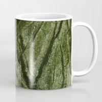 white marble Mugs featuring Marble by Santo Sagese