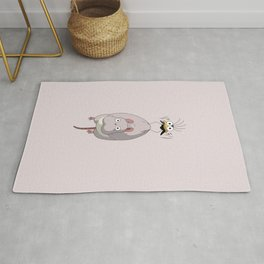 Chihiro Mouse and Fly Rug