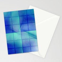 Blue shadows Stationery Cards