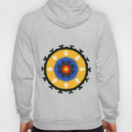 Bold and bright beauty of suzani patterns ver.8 Hoody