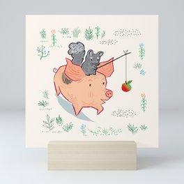 Meadow March Mini Art Print