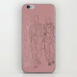 The three musketeers #1 iPhone Skin