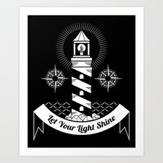 Let Your Light Shine Art Print
