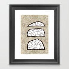 Mounds Framed Art Print