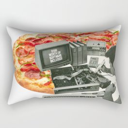Software included Rectangular Pillow
