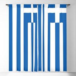 Flag of Greece Greek Blackout Curtain