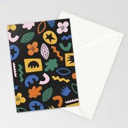 Shapes & Plants IV Stationery Cards