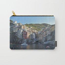 Riomaggiore Village Sunrise - Cinque Terra, Italy Carry-All Pouch