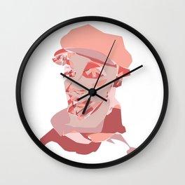 pink man Wall Clock