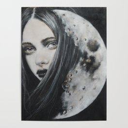 Weeping Heart and the Moon Poster