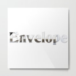 Envelope Metal Print