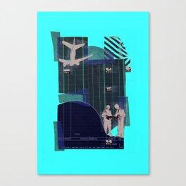 Plans Plain Canvas Print
