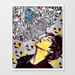 baekhyun dreams Canvas Print