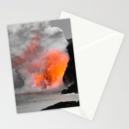 Lava Meets Ocean Stationery Cards
