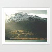 alaska Art Prints featuring Alaska by Parissis