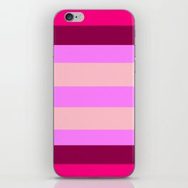 Raspberry Juicy Bubblegum iPhone Skin