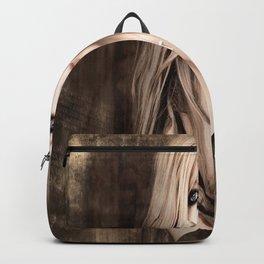 A Beautiful Avril Lavigne Singing wallpaper/poster design Backpack