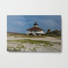 Boca Grande Railroad Vines Metal Print