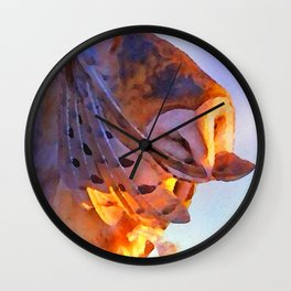 Daily Rituals: Rise and Shine Wall Clock