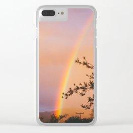 Ojai Rainbow Clear iPhone Case