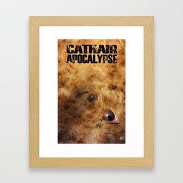 Cathair Apocalypse Book 1 Cover Framed Art Print