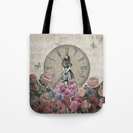 Alice In Wonderland - Wonderland Garden Tote Bag