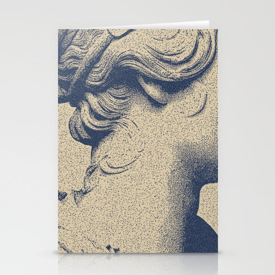 ink on paper Stationery Cards