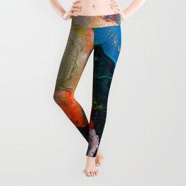 El Nino Abstract Leggings