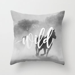 MANTRA SERIES: Wild Throw Pillow