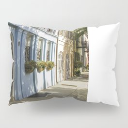 Charleston SC No. 4  Rainbow Row Pillow Sham