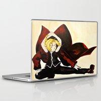 fullmetal Laptop & iPad Skins featuring Fullmetal Alchemist - Edward Elric by VoicesRantOn