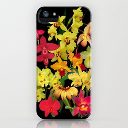 Orchids - Hot Colors! iPhone Case