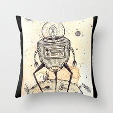 Big Bot Throw Pillow