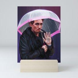 Klaus Hargreeves Inspired Digital Painting Mini Art Print