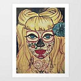 JAP SAM VINTAGE Art Print