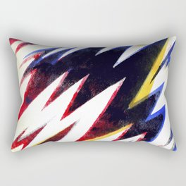 Electric pattern Rectangular Pillow