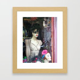 The Nineteen Fifties Look in the Village Framed Art Print