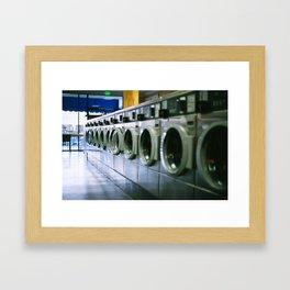 LA Laundry Framed Art Print