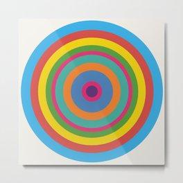 Circle number 1 Metal Print