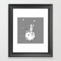 Greeting a Star Framed Art Print