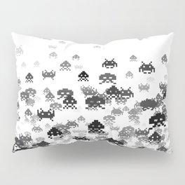 Invaded III B&W Pillow Sham