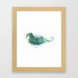 Elven Forest Framed Art Print