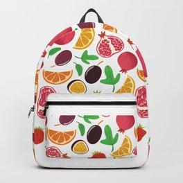 Fresh Fruit Portrait Backpack