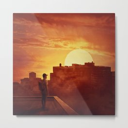 sunset mystery Metal Print