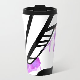 Purple Stain Butterfly Travel Mug