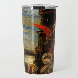 """Gustave Moreau """"St. Cecilia (The Angels Announcing her Coming Martyrdom)"""" Travel Mug"""